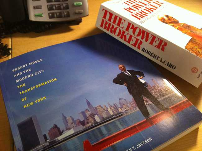 Two books about Robert Moses,